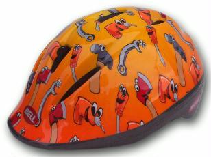 Kinderhelm Bell Minibell Orange Tools