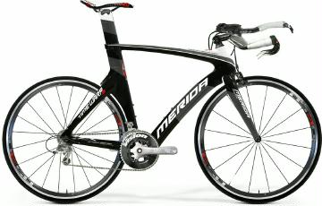 Triathlonrad Merida Time Warp 5 Carbon 2013 frei Haus