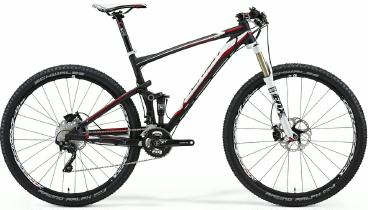 Mountainbike Merida Big Ninety-Nine CF 3000 Fully 29er 2014 frei Haus