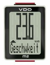 Fahrradcomputer VDO M2 WR kabelgebunden