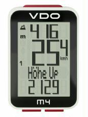Fahrradcomputer VDO M4 WR mit Höhenmesser kabelgebunden Sale Angebote Ortrand