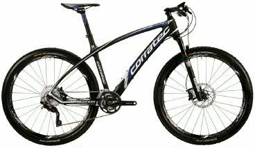 Mountainbike Corratec Revolution SL XT 27,5er Carbon 2015 frei Haus