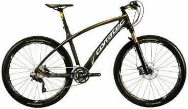 Mountainbike Corratec Revolution XT 27,5er Carbon 2015 frei Haus