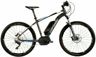 E-Bike Corratec X-Vert 650B Bosch Performance 25 Herren 2015 frei Haus