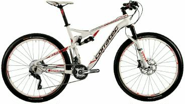 Mountainbike Corratec Inside Link 65 Y Fully 2015 frei Haus