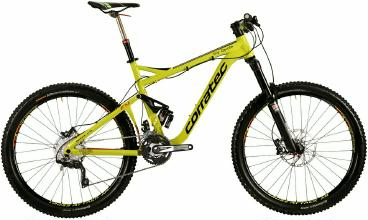 Mountainbike Corratec Opiate 650B FY Fully 2015 frei Haus