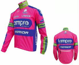 Windjacke Lampre-Merida Team