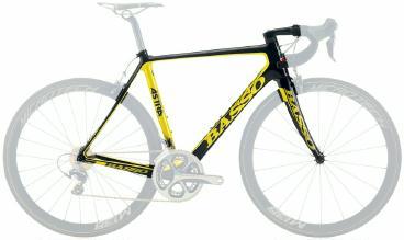 Rahmenset Rennrad Basso Astra 2015 frei Haus