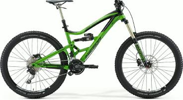 Mountainbike Merida One-Sixty 7.600 Fully 2015 frei Haus