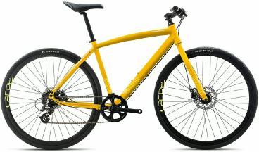Fitnessbike Orbea Carpe 30 2017 gelb