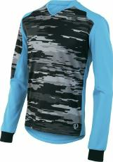 Trikot MTB Pearl Izumi Launch Thermal Jersey blau Sale Angebote Ortrand