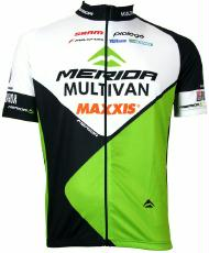 Trikot Merida Multivan Biking Team kurzarm