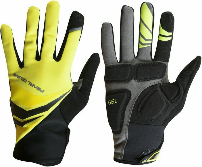 Handschuhe Pearl Izumi Cyclone Gel Glove Men gelb jetztbilligerkaufen