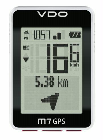 Fahrradcomputer VDO M7 GPS mit Höhenmesser kabellos - broschei