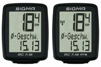 Fahrradcomputer Sigma BC 7.16/ 7.16 ATS Sale Angebote Haasow