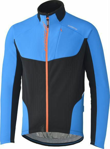 Winterjacke Shimano Performance Windbreak Jacket blau jetztbilligerkaufen