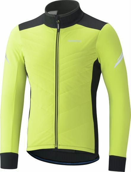 Winterjacke Shimano Insulated Windbreak Jacket gelb L