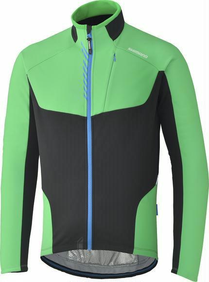 Winterjacke Shimano Performance Windbreak Jacket grün L