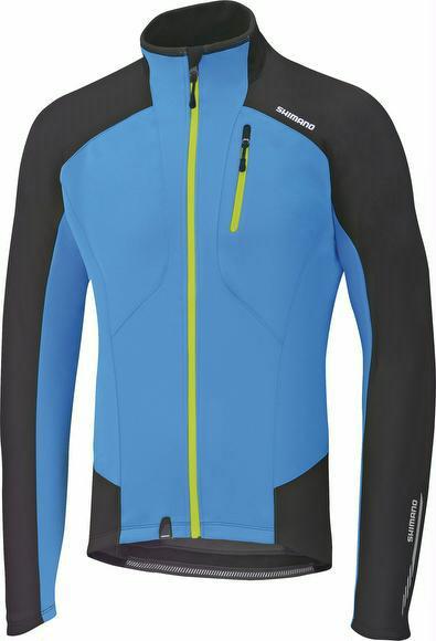 Winterjacke Shimano Performance Windbreak Jacket Herren blau jetztbilligerkaufen