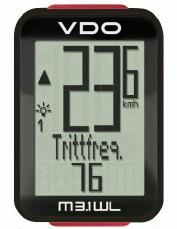 Zubehör > tachos: VDO Fahrradcomputer  M3.1 WL kabellos mit Trittfrequenz