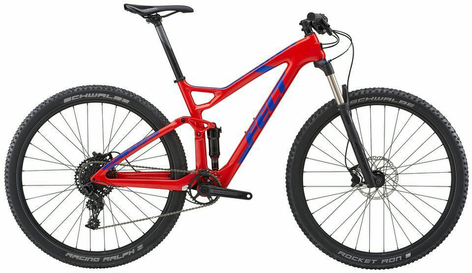 Mountainbike Felt Edict 5 Carbon Fully 29er 2018, Raddiscount Online ...