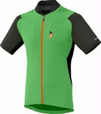 Bekleidung > trikots/Trikots: Shimano Trikot  Explorer Jersey Grün M
