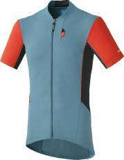 Bekleidung > trikots/Trikots: Shimano Trikot  Explorer Jersey Ägäis L
