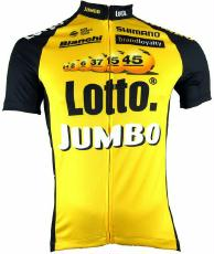 Bekleidung > trikots/Trikots: Shimano Trikot  Print Short Sleeve Jersey Team Lotto M
