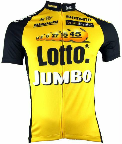 Trikot Shimano Print Short Sleeve Jersey Team Lotto M