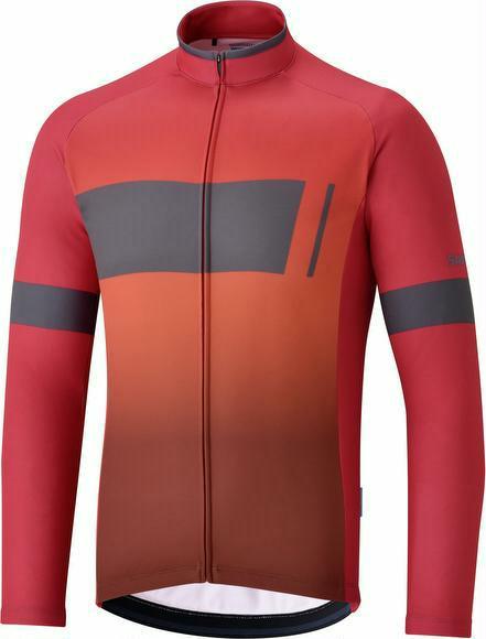 Trikot Shimano Thermal Team Jersey Rot XXXL