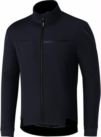 Winterjacke Shimano Windbreak Jacket Herren L, Navy