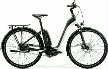 E-Bike Merida eSpresso City 700 EQ 2020 Schwarz/Weiß XL frei Haus