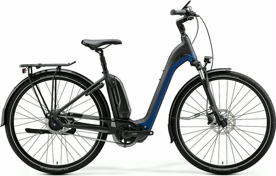 E-Bikes: MERIDA E-Bike Merida eSpresso City 700 EQ 2020 SchwarzBlau XL frei Haus