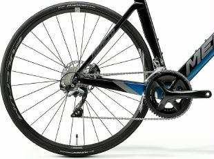 Rennrad Merida Reacto Disc 5000 Carbon 2020 Blau
