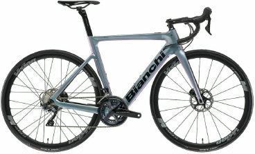 E-Bikes: Bianchi E-Bike  Aria E-Road Ultegra Carbon 2021 61 cm Celeste frei Haus