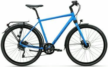 fahrräder > Fahrräder: Koga Trekkingrad  F3 5.0 Herren Blau 2021 54 cm frei Haus