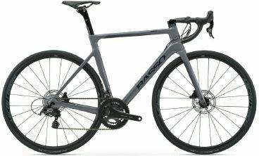 fahrräder > Fahrräder: Basso Rennrad  Astra Disc Carbon Chorus 2021 Vorverkauf 58 cm Dark Asphalt frei Haus