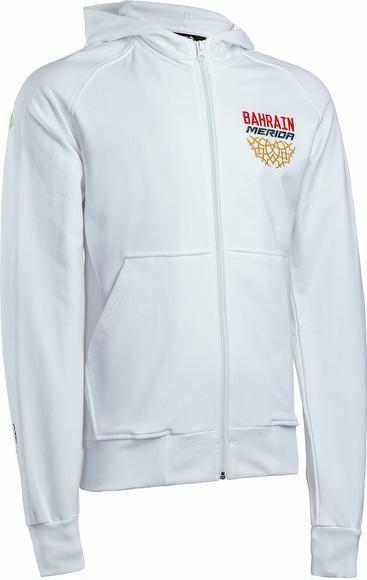Jacke Merida Zip-Hoodie Team Bahrain Look L