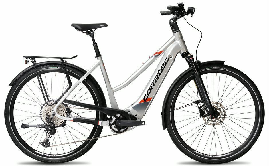 E-Bikes: Corratec E-Bike  E-Power Sport 28 CX6 12S Trapez 2021 45 cm frei Haus