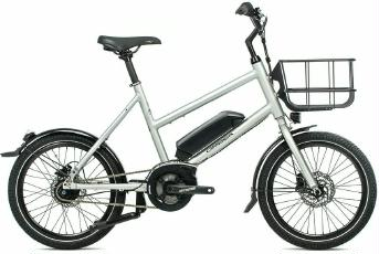 E-Bike Orbea Katu-E 30 2021 Ätherischsilber matt frei Haus