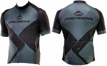 Bekleidung/Trikots: MERIDA Trikot Merida Road Rhombe kurzarm XL