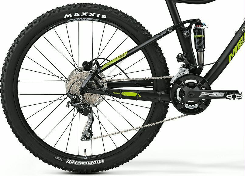 mountainbike merida one twenty 500 fully 27 5er 2017. Black Bedroom Furniture Sets. Home Design Ideas